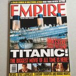 Empire Magazine February 1998 issue 104 Titanic